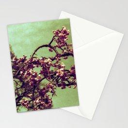 Redscale Blossom Stationery Cards