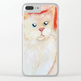 Jace the Ragdoll Clear iPhone Case