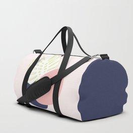 Spring Monstera #society6 #spring Duffle Bag