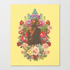 Las flores de Toci Canvas Print