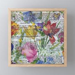 Flowery Prose Framed Mini Art Print
