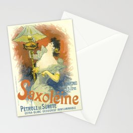 Saxoleine Vintage French Advertising Stationery Cards