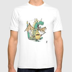 A Kobold in Dragon Clothing Mens Fitted Tee X-LARGE White