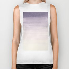 Washed Out Purple Biker Tank