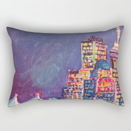 From Vancouver Harbour Rectangular Pillow