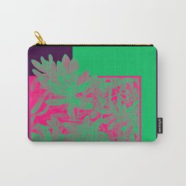 Neon Greenery #society6 #succulent Carry-All Pouch