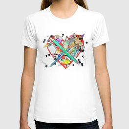 watercolor art materials T-shirt