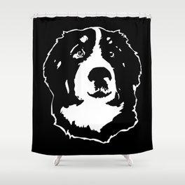 BERNESE DOG Shower Curtain