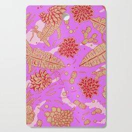 Warm Flower Cutting Board