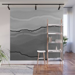 hunter mountain abstract Wall Mural
