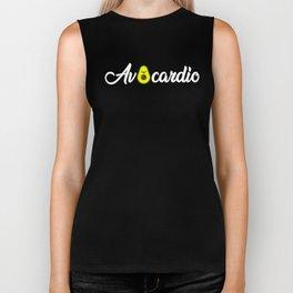 Avocardio, Vegan Gym, Avacodo Gift Biker Tank