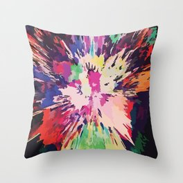 CamoPop Throw Pillow