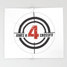 JN4 Target Throw Blanket