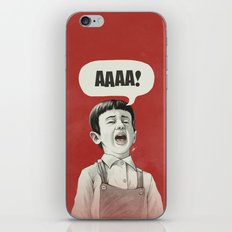 AAAA! iPhone & iPod Skin