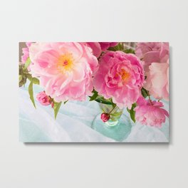 Vibrant Bouquet with filters Metal Print