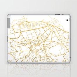EDINBURGH SCOTLAND CITY STREET MAP ART Laptop & iPad Skin
