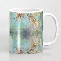 Gold Abstract Mug