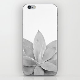 Gray Agave #1 #tropical #decor #art #society6 iPhone Skin