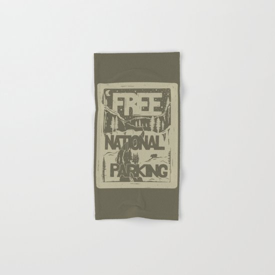 PRKNG Hand & Bath Towel
