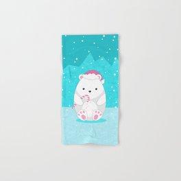 Polar bear Hand & Bath Towel