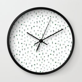 Spikes Are Nice Wall Clock