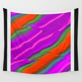 Ribbon Candy Abstract Wall Tapestry