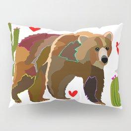 Brown Bear Pillow Sham