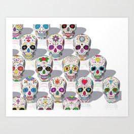 I Like Sugar Skulls Art Print