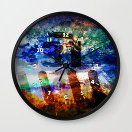 Photos of Yesterday and Today. Wall Clock