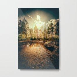 Sonne II Metal Print