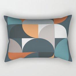 Mid Century Geometric 11/2 Rectangular Pillow