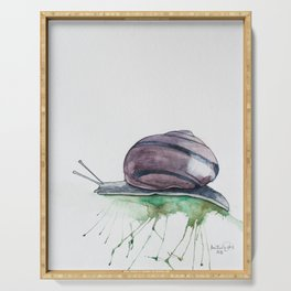Stan the Snail Serving Tray