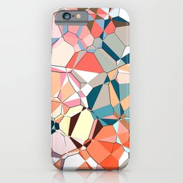 Jumble of Shapes And Colors iPhone Case