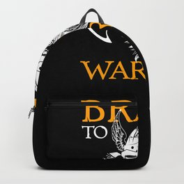 Brave to be warrior Viking Backpack