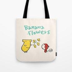 Banana Flowers Tote Bag