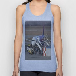 Wizz Air Jet And Fire Brigade Unisex Tank Top