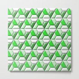 Geometrix XXXIV Metal Print