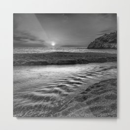 """Just last minute at the beach"" Metal Print"