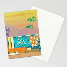 Palm Springs Apartment Stationery Cards