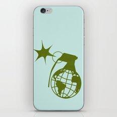 Earth Grenade iPhone & iPod Skin