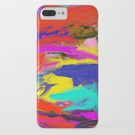 Rainbow Abstract II iPhone Case