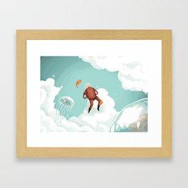 Skynaut Framed Art Print