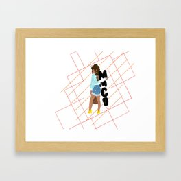 Hey girl heeey Framed Art Print