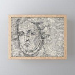 A Lady of Great Renown Framed Mini Art Print