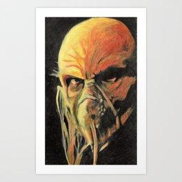 Doctor Satan Art Print