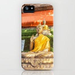 Buddha at Wok Lok Molee iPhone Case