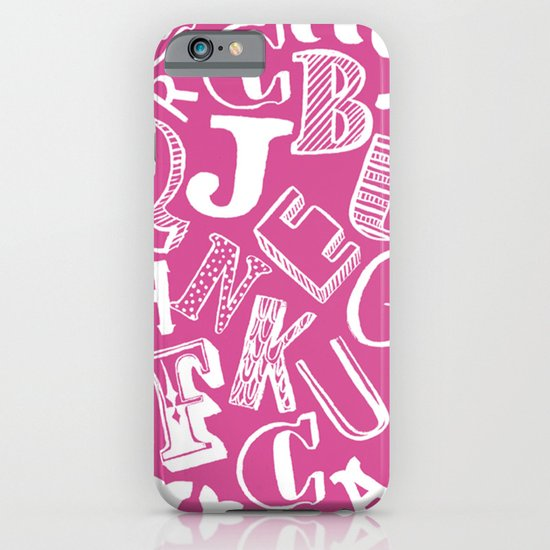 A-Z iPhone & iPod Case