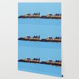 Tourelle on the Edge of the Sea Wallpaper