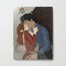 Gwyn and Azriel Winter Solstice  Metal Print