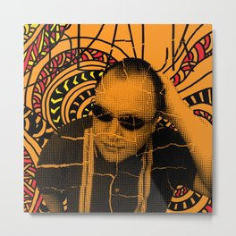 Black Francis, where is my mind? Metal Print